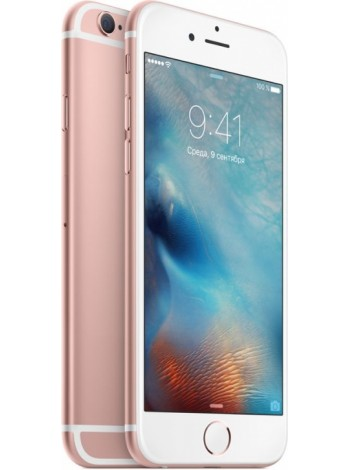 Apple iPhone 6S 32Gb (розовый, Rose Gold)