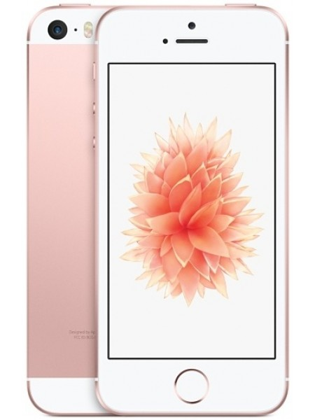 Apple iPhone SE 32Gb (MP822RU/A) (розовый, Rose Gold)